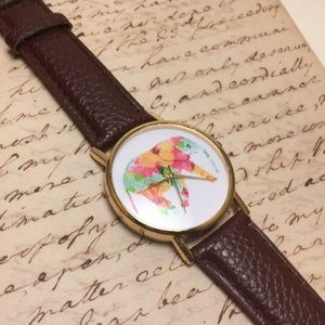 Accessories - Colorful Elephant Watch